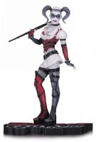 Harley Quinn Red, White and Black - Batman Arkham Asylum: Harley Quinn - Statue